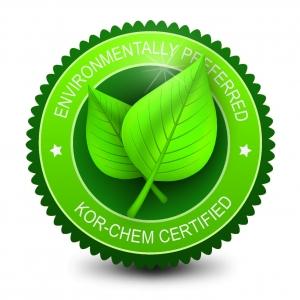 KCI environmentally preferred logo