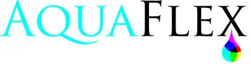 AquaFlex logo - outline